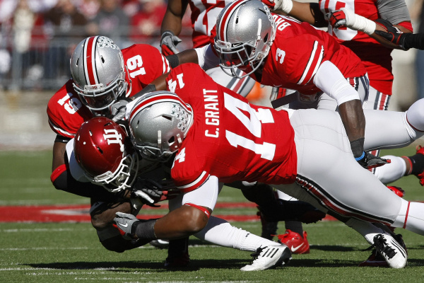 The Buckeyes have beaten four different teams, three of which were conference foes, by at least 58 points
