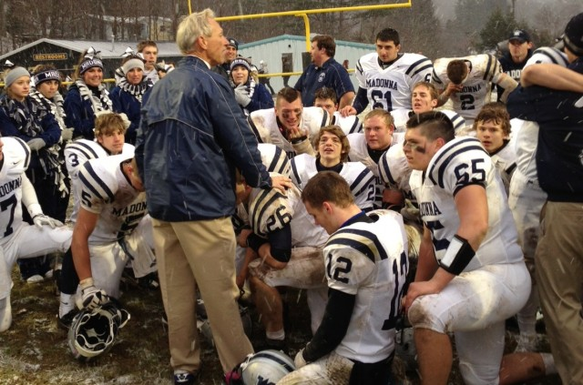 Weirton Madonna Football Weirton Madonna Wins in Double