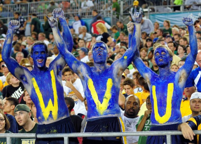 Hate Love/ Musket The The with  Shot: Relationship WVU